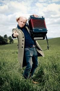 Ceilidh Experience Accordionist Norman Mackay